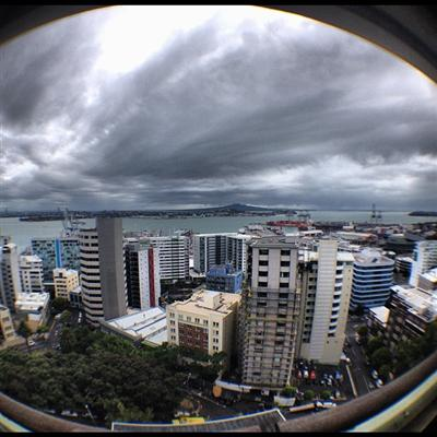 &quot;Wuddup Auckland !!! #HustleGang #FckEmWeBll !!!&quot; - B.o.B
